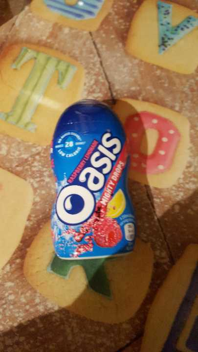 Oasis Mighty Drops Raspberry Lemonade
