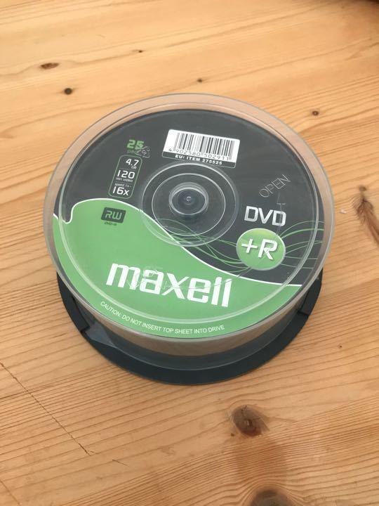 Empty dvds