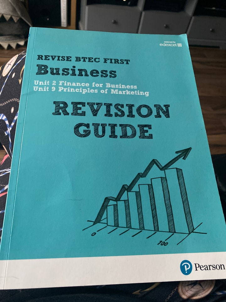 BTEC Business revision guide