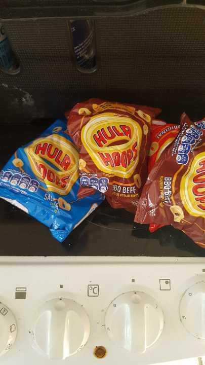 Hula hoops x 4 bags
