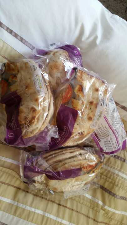 Naan breads from  Alliance