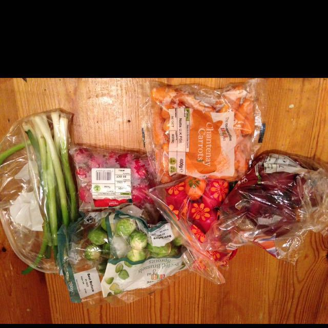 Various veg