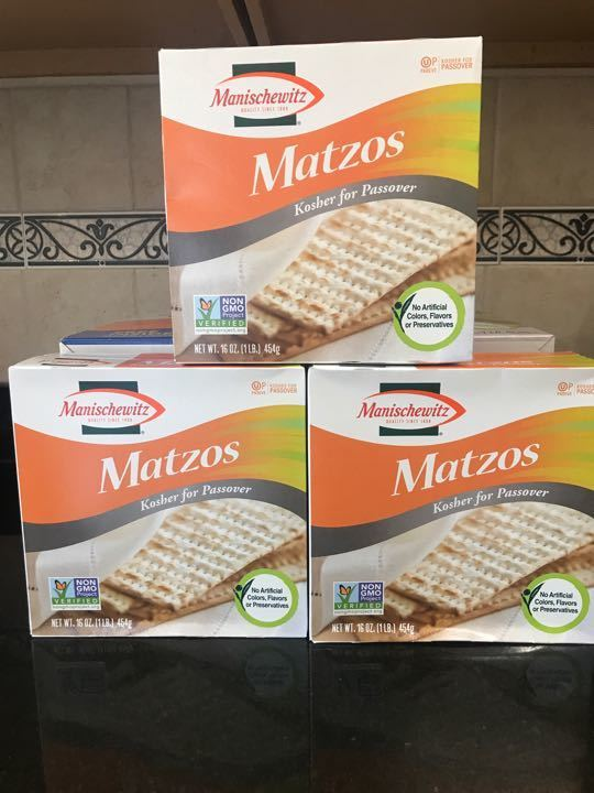Free Matzos 16 ounce boxes (3 total )
