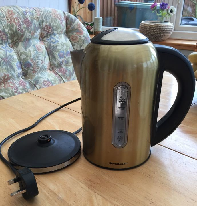 Silver crest electric kettle