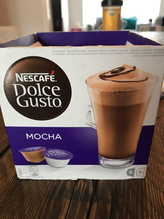 Dolce gusto pods - mocha flavour