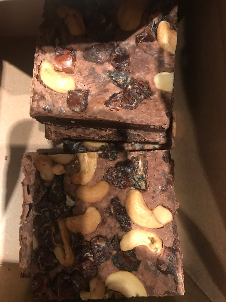 Vegansk brownie from Barista Victoria (21/02)