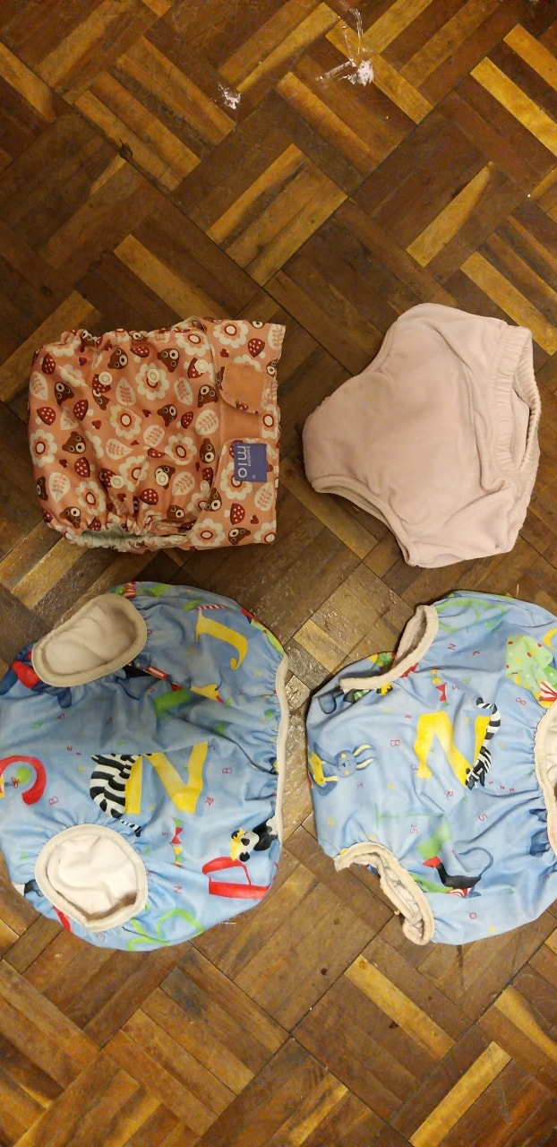 Training pants/cloth nappy.