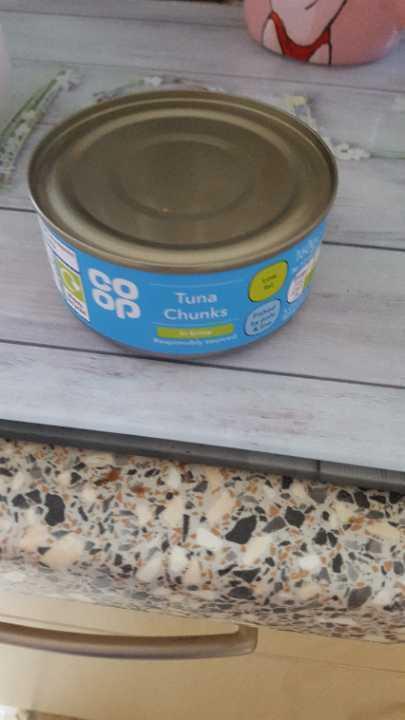 Tuna tin