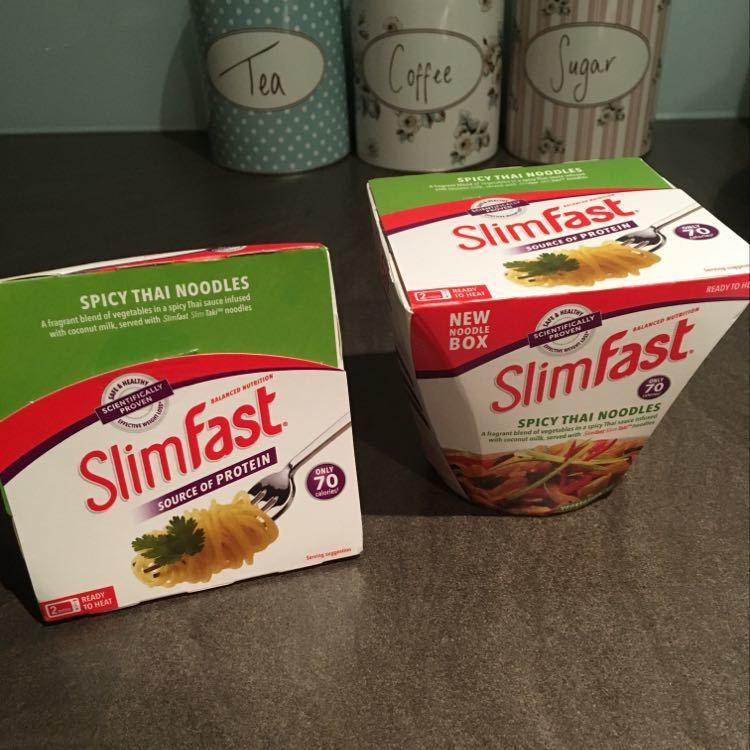 2 x Slimfast Spicy Thai Noodles