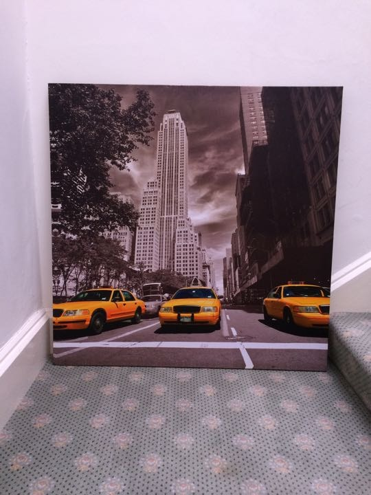 Stretched canvas poster
