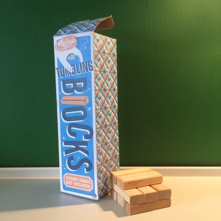 Tumbling Blocks game