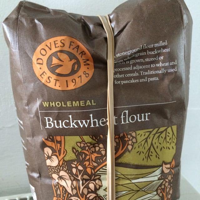 Doves Farm Buckwheat Flour - used