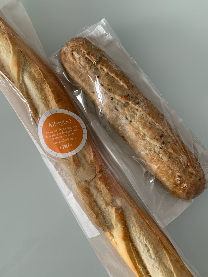 Pret artisan baguettes