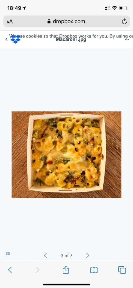 Pret cauliflower macaroni cheese
