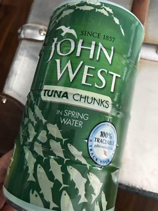 Tuna Chunks in Spring Water (John West)