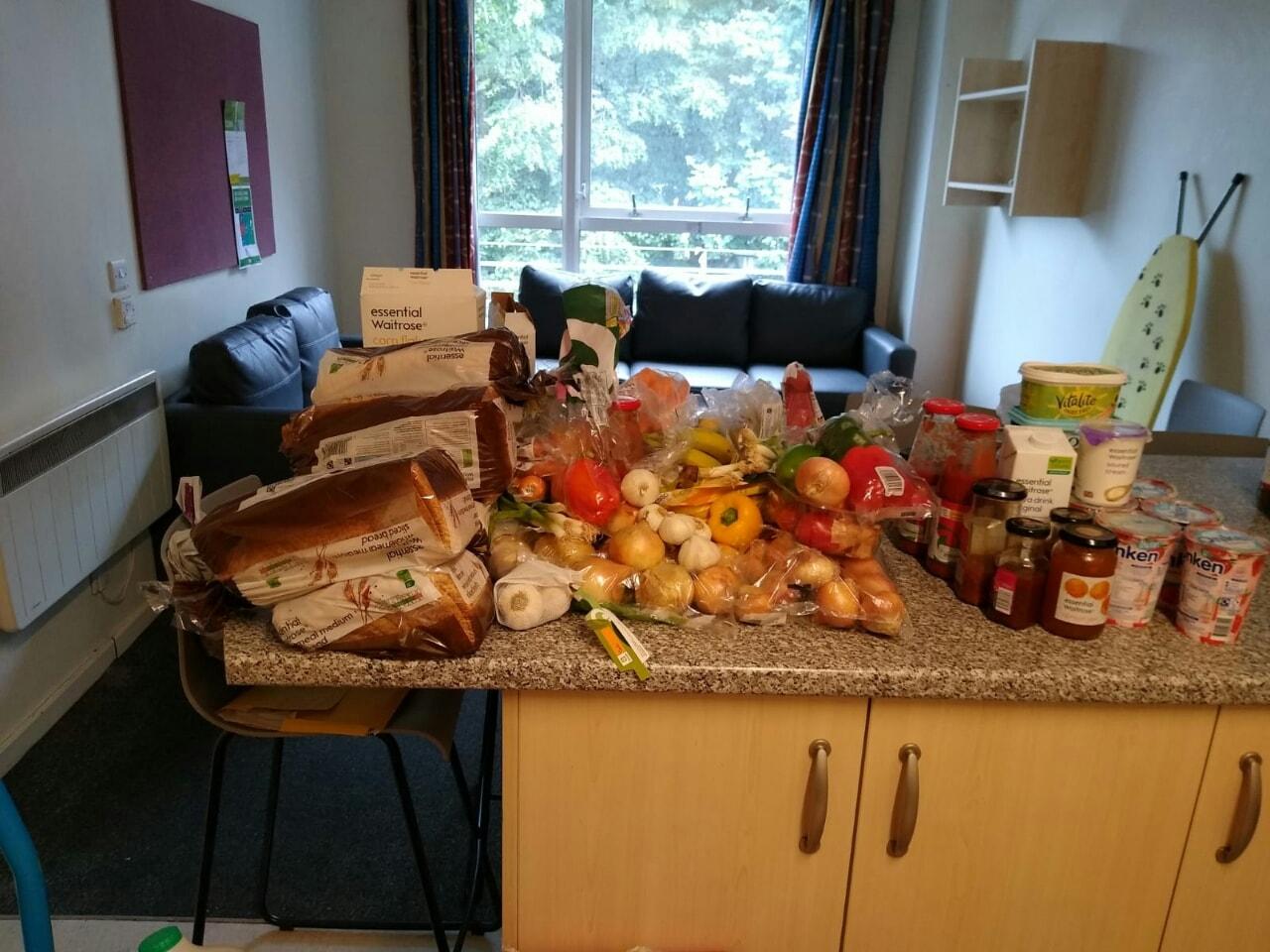 THE CHALLENGE surplus food