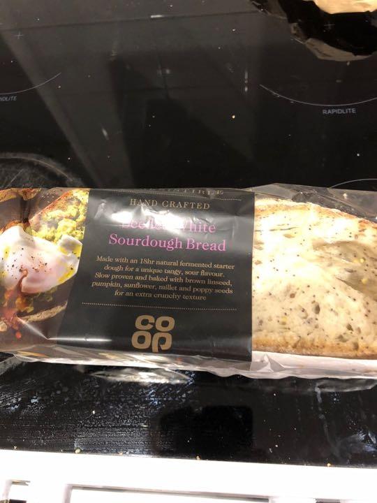 Co op seeded sourdough