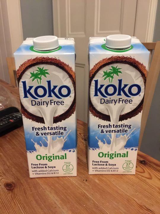Coconut dairy free milk drink