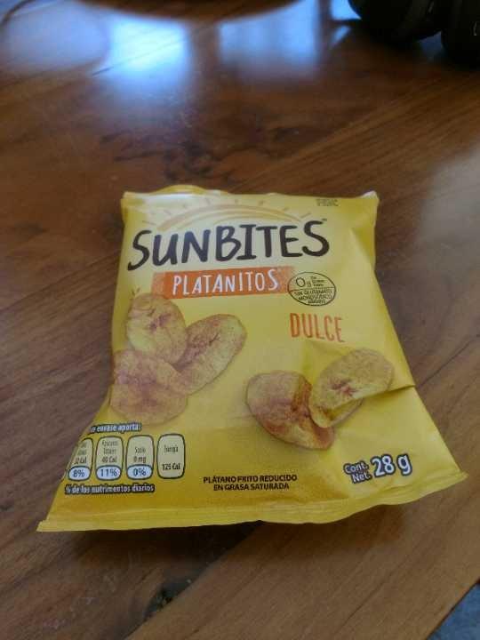 Sunbites   platanitos dulces