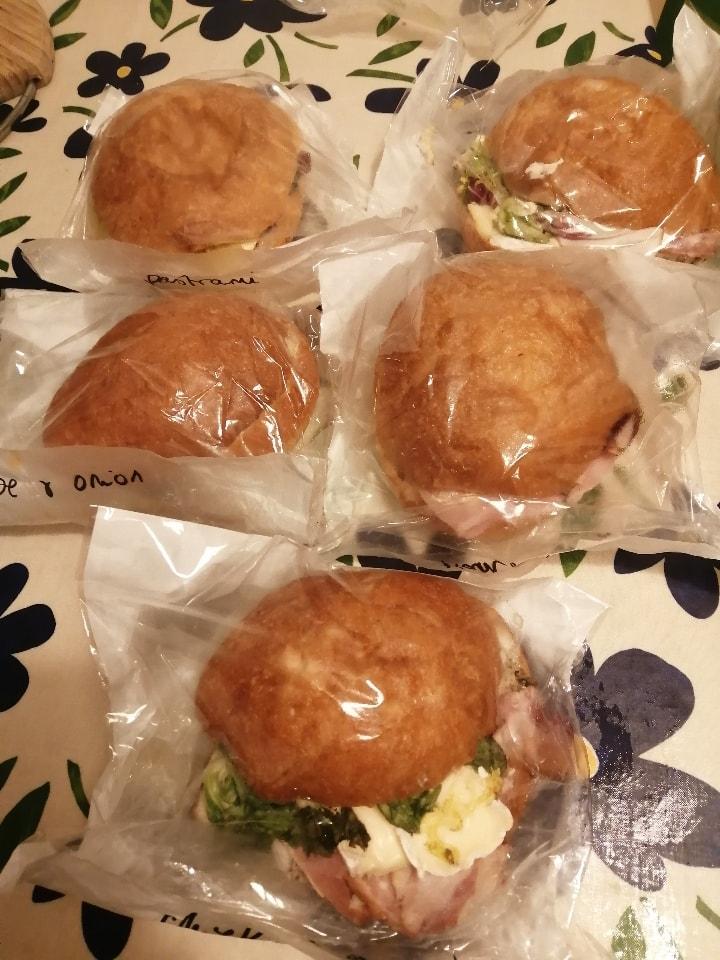 Flourpot meaty sandwiches