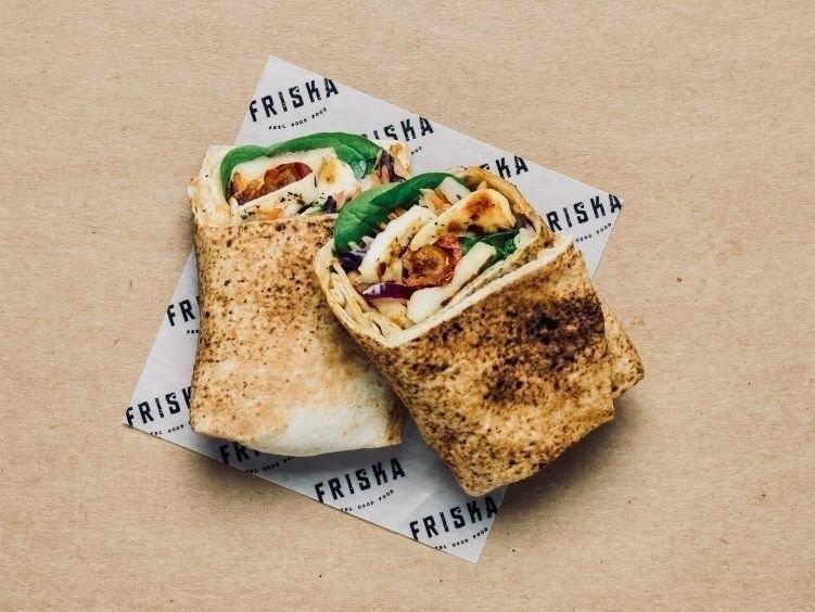 Chickpea Wrap: Fresh-made today! - FRISKA
