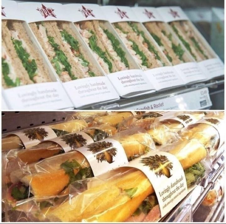 Rescued Pret food TUESDAY .... SALFORD CENTRAL STATION!