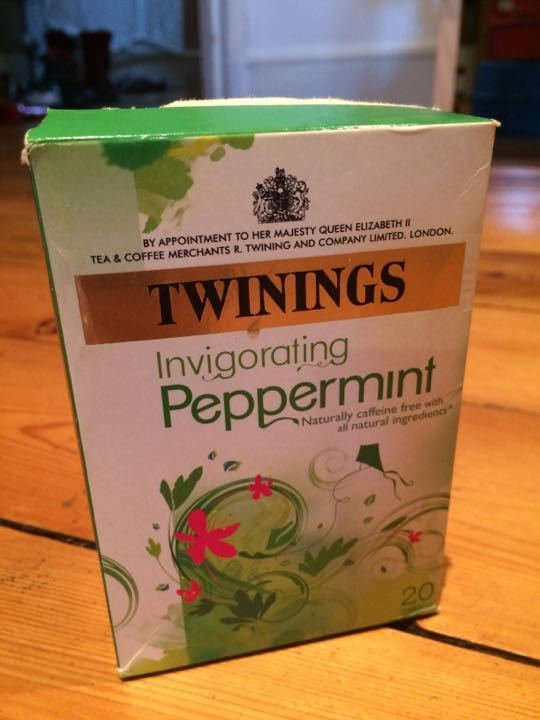 Twinings Peppermint tea bags (plus some extra coop ones)