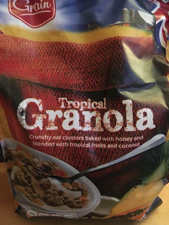 Tropical Granola