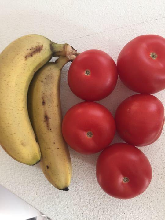 Tomatoes & bananas
