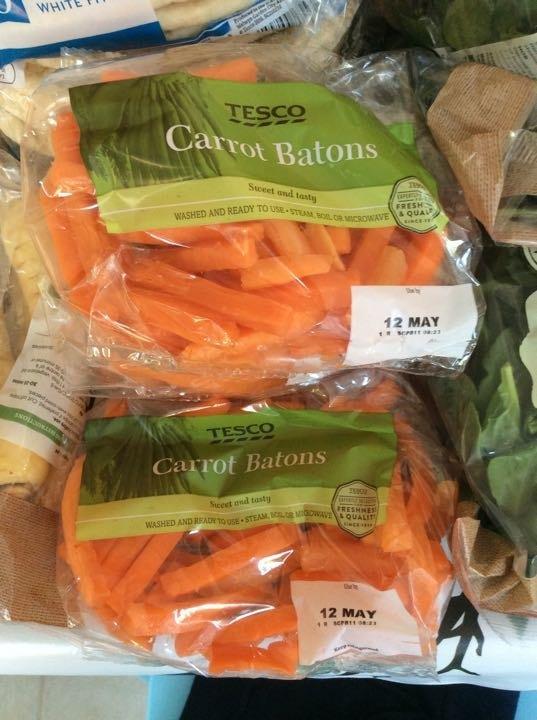 Carrot batons