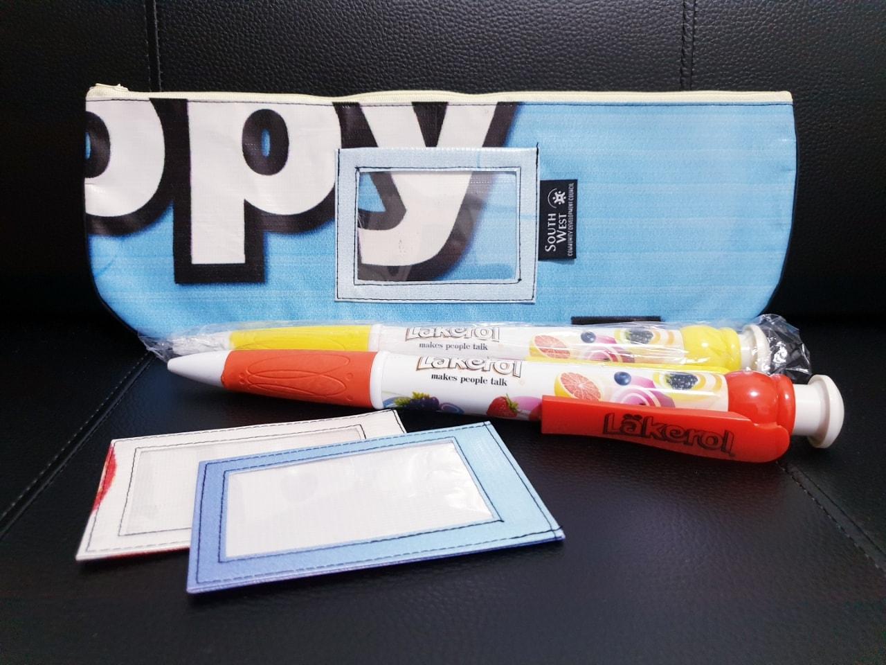 Pencil Cases + Lakerol Pen