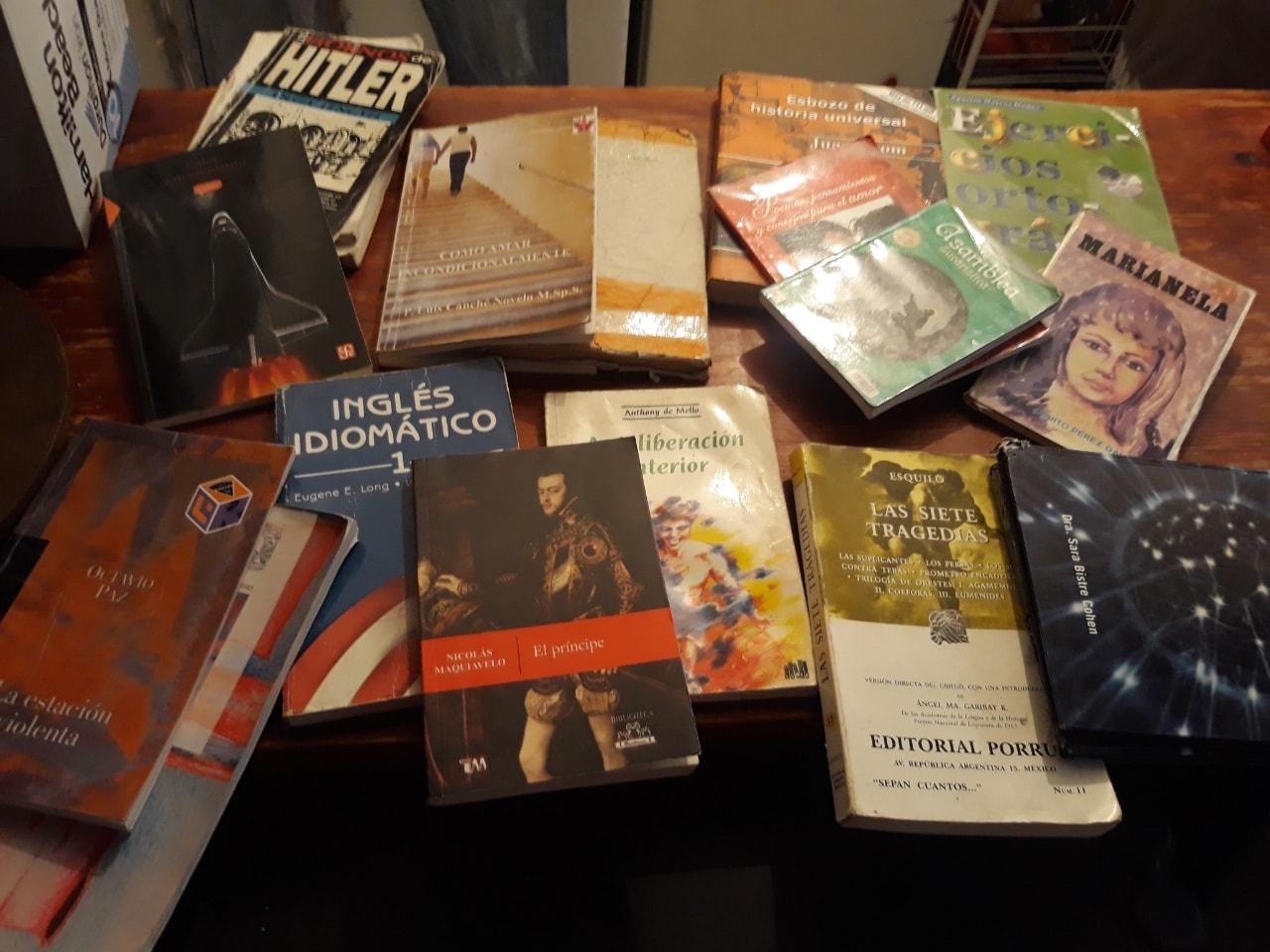Libros de todo un poco