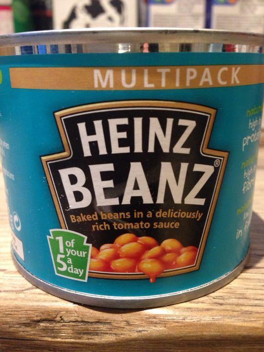Small tin Heinz baked beans