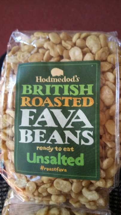 Roasted unsalted fava (broad) beans