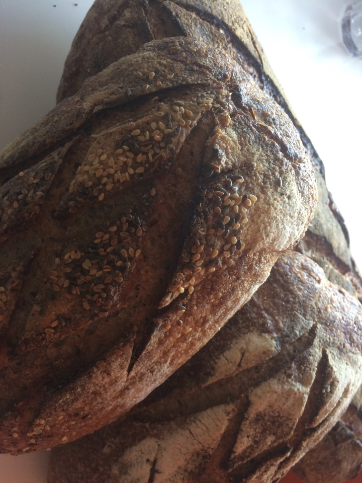 Bread from Les petits Boudins