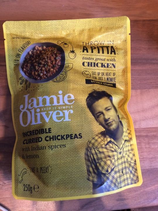 Jamie Oliver incredible curried chickpeas