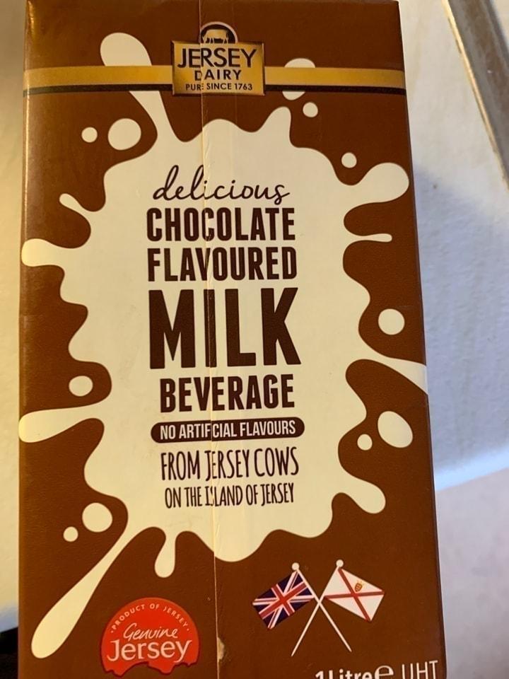 Chocolate milk 🥛 🍫