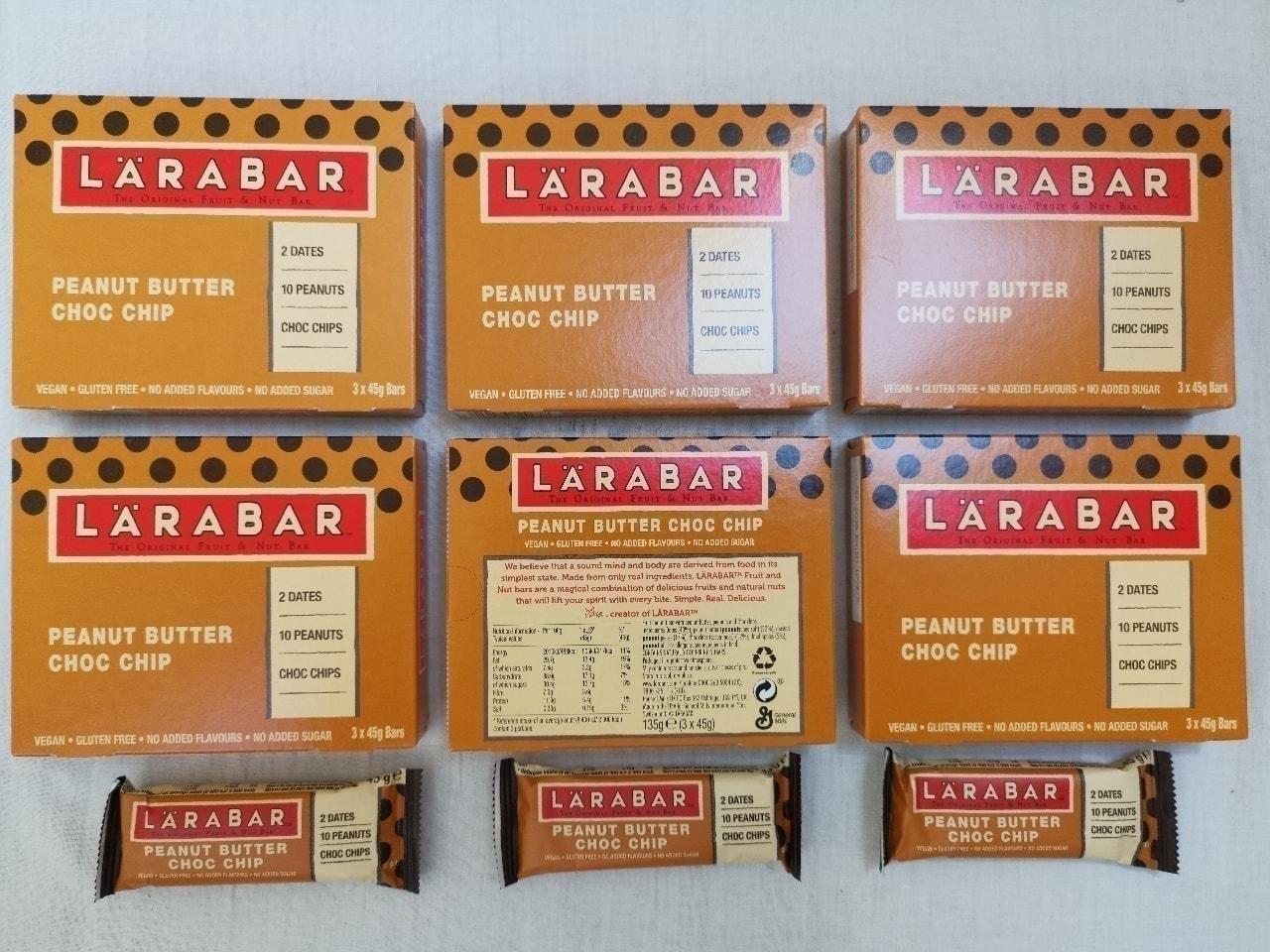 Peanut Butter Choc Chip Energy Bars by LaraBar 🥜 🍫