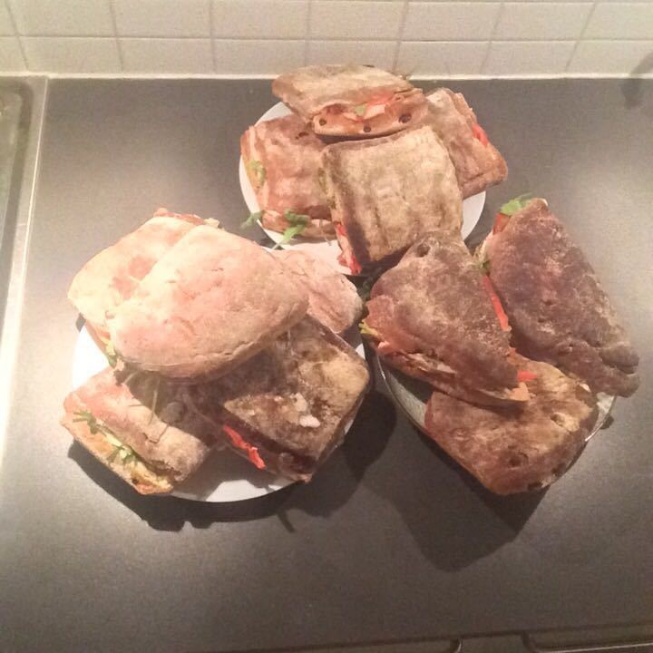 Lots of FREE Artisan Sandwich, mix of flavours