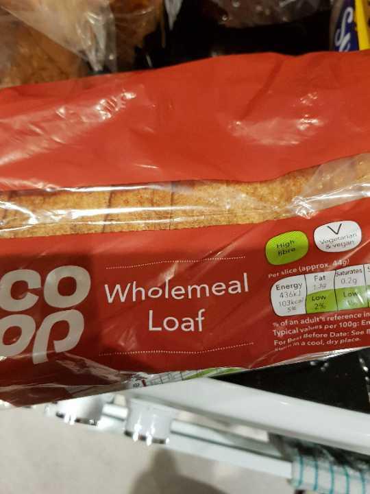 Co-op wholemeal bread