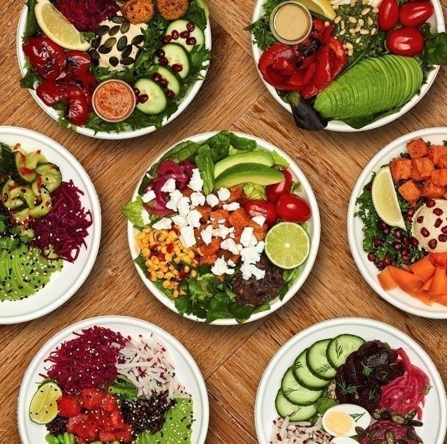 falafel  salad box