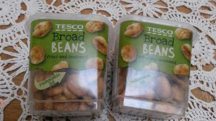 Broad Beans snack