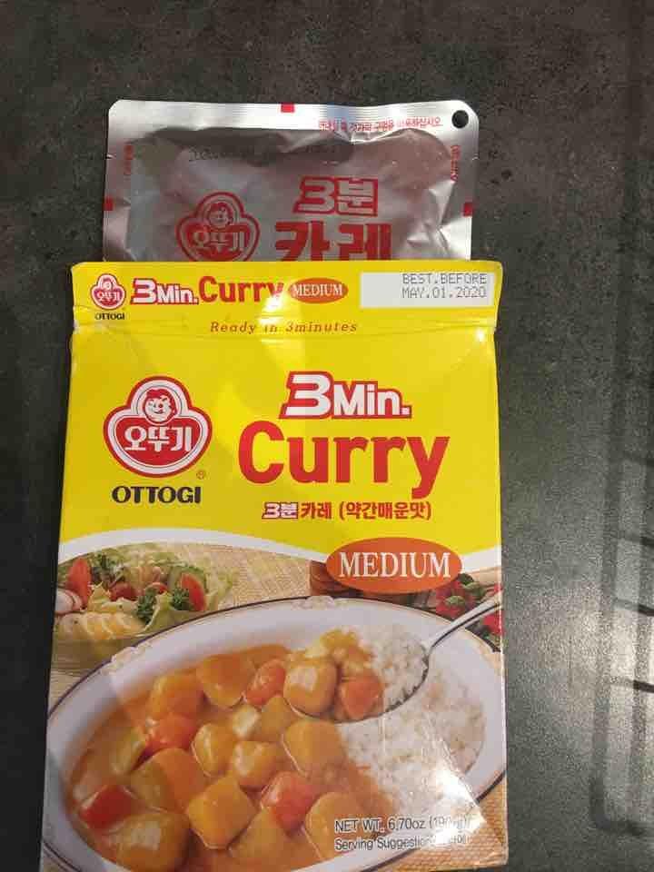 3 minute ottogi curry