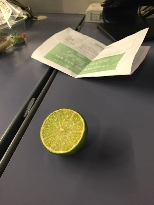 Free lime