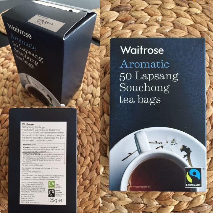 Waitrose Aromatic Lapsang Souchong Tea Bags