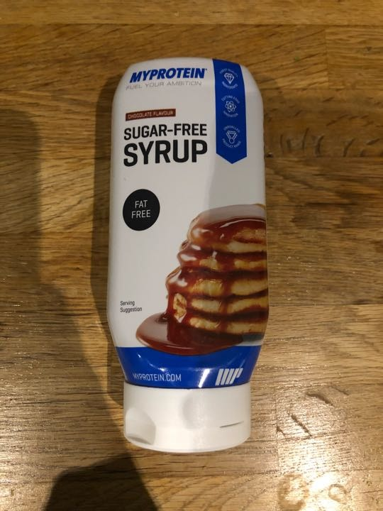 MYPROTEIN Sugar free chocolate flavour syrup-full