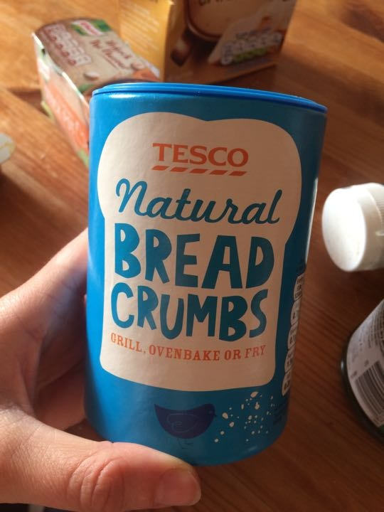 Tesco bread crumbs