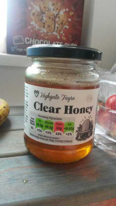 1 450g jar of honey