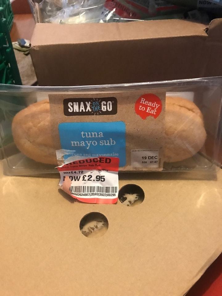 Tuna Mayo sub
