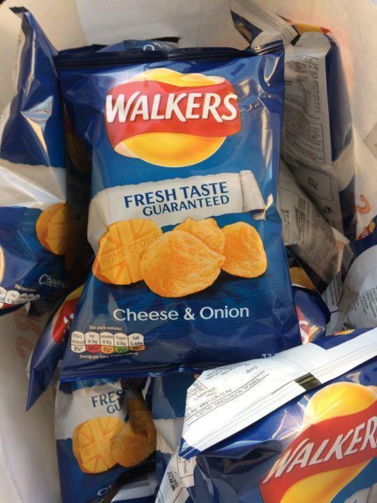 Free bags of crisps